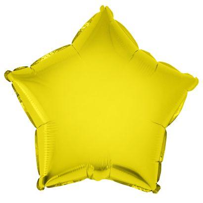 Balão Metalizado Estrela 28cm Ouro com Vareta Funny Fashion