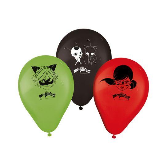 Balão Miraculous LadyBug 25 Unidades - Regina Festas