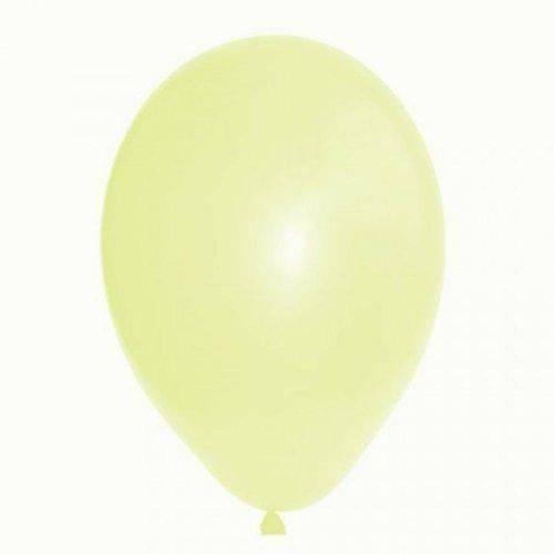 Balão N°7 Liso Pérola com 50 Unidades