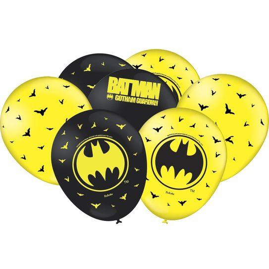 Balão Nº 9 (25 Unidades) - Batman - Festcolor