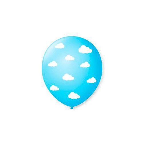 Balão N10 Nuvem Cores Sortidas 25 Unidades Pic Pic