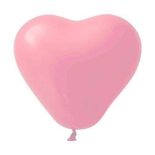 Balão No.6 Coração Rosa São Roque