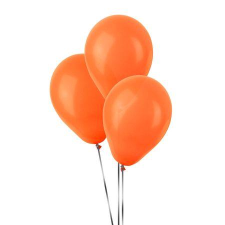 Balão Pic Pic N.7 Laranja - 50 Unidades