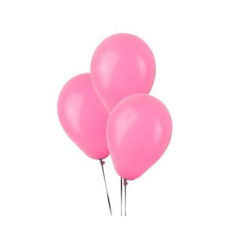 Balão Pic Pic N.9 Rosa Claro - 50 Unidades