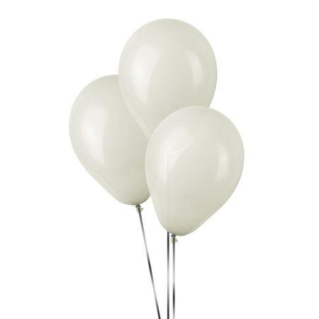 Balão Pic Pic N.7 Branco - 50 Unidades