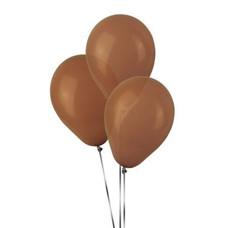 Balão Pic Pic N.7 Marrom - 50 Unidades