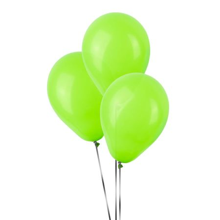 Balão Pic Pic N.7 Verde Claro - 50 Unidades