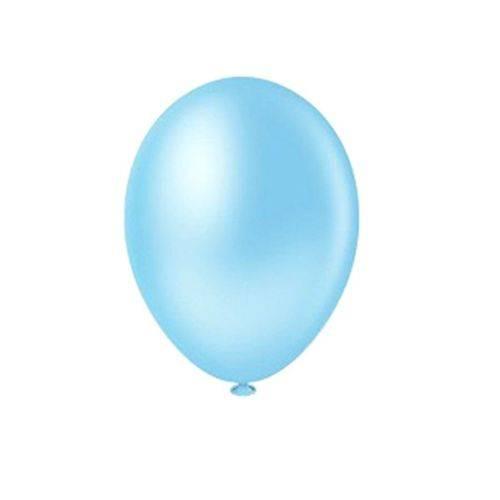 Balão Pic Pic Nº8 C/50 Unidades Azul Claro