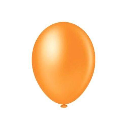 Balão Pic Pic Nº8 C/50 Unidades Laranja