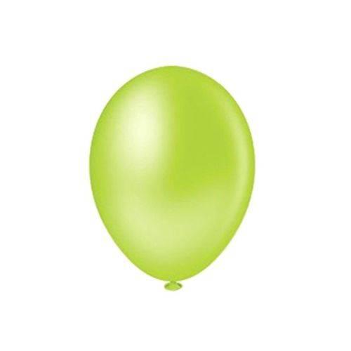 Balão Pic Pic Nº8 C/50 Unidades Verde Limão