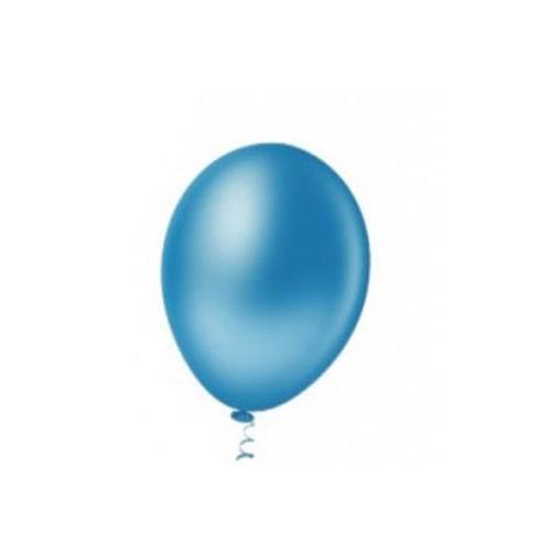 Balão Redondo Azul Regata Tamanho 5 C/50 - Pic Pic