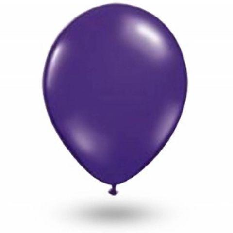 Balão Roxo Uva Tamanho 7 C/50 - São Roque
