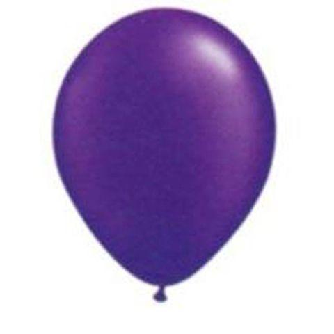 Balão Roxo Uva Tamanho 9 C/50 - São Roque