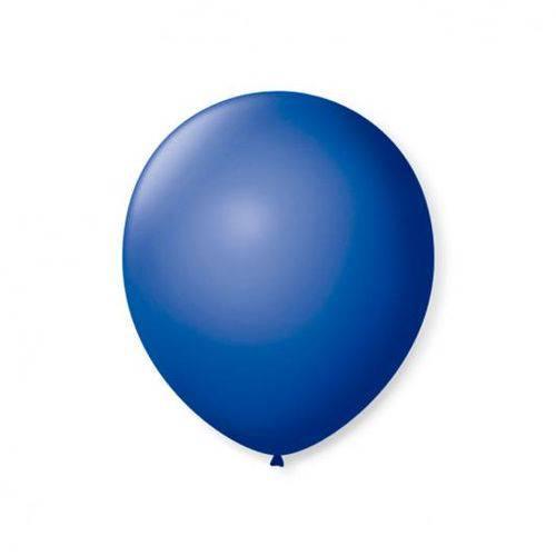 Balao S.roque 7 Liso Azul Cobalto C/50 Pacote C/ 50 Unds