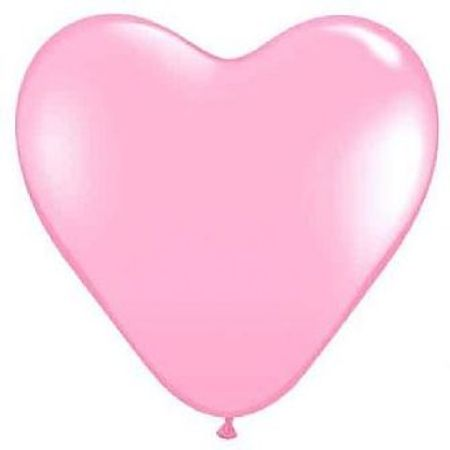 Balão São Roque Coração N.11 Rosa - 20 Unidades