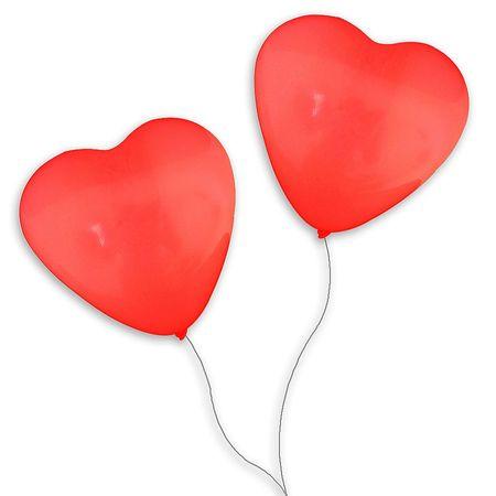 Balão São Roque Coração N.6 Vermelho Balão São Roque Coração N.6 Vermelho - 50 Unidades