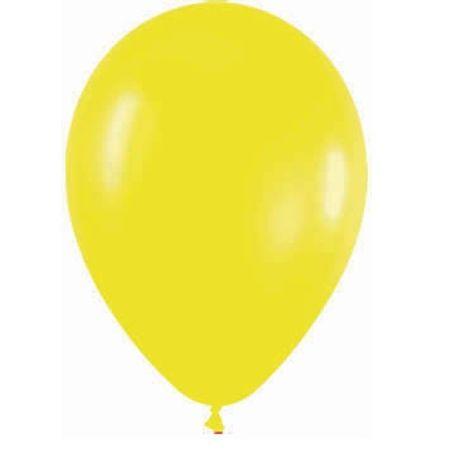 Balão São Roque N.7 Amarelo - 50 Unidades