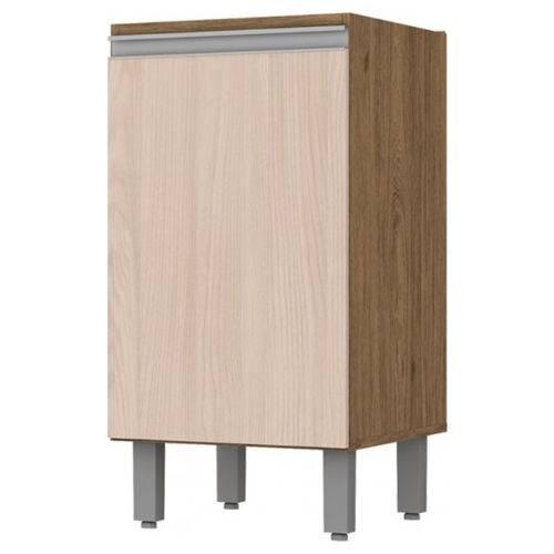 Balcão 1 Porta 40cm Integra Rústico/fendi - Henn