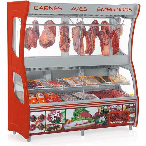 Balcão de Carne GEVD210 Gelopar Balcão Frigorífico 110v