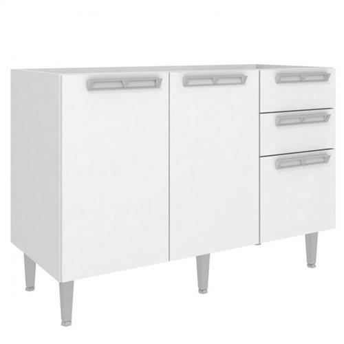 Balcão de Cozinha 2 Portas e 3 Gavetas CZ614 - Art In Móveis CZ614