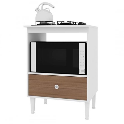 Balcão Dubai para Forno e Cooktop BL4060 - Art In Móveis | Elare