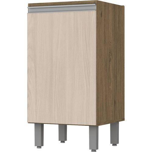 Balcão Henn Integra 40cm 1 Porta Rústico/fendi