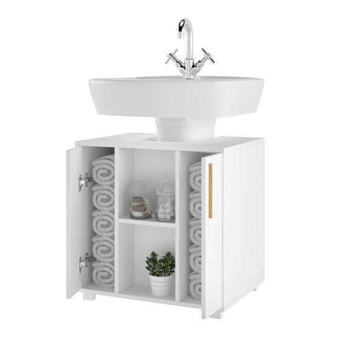 Balcão para Banheiro 2 Portas 60cm BBN 08 BRV Móveis - BRV Móveis
