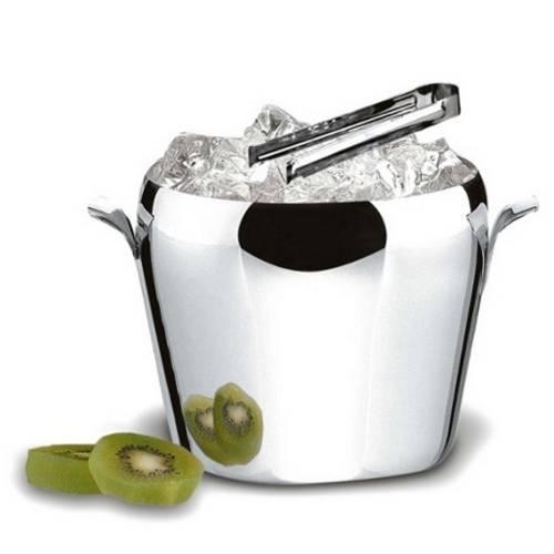 Balde Arienzo para Gelo 1,5 Litros Aço Inox 1651/000