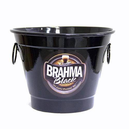 Balde de Gelo 6 Litros Brahma Chopp Black
