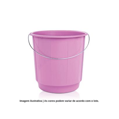 Balde de Plástico com Alça de Ferro 15 Litros Arqplast
