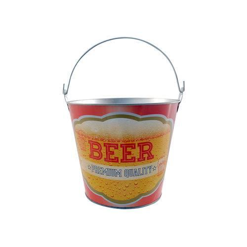 Balde para Cerveja Casita Premium 7,6 Litros Amarelo