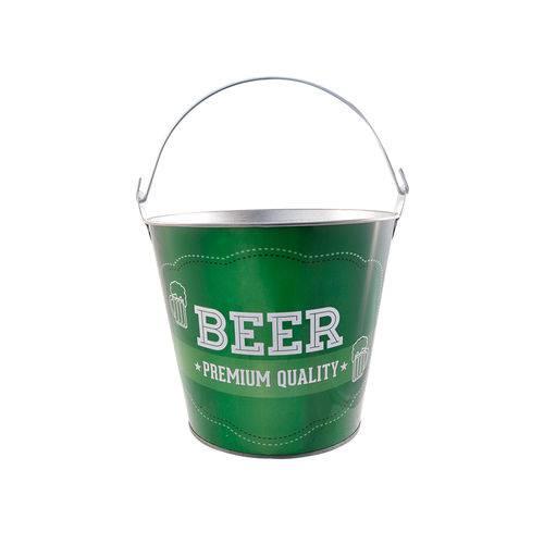 Balde para Cerveja Casita Premium 7,6 Litros Verde