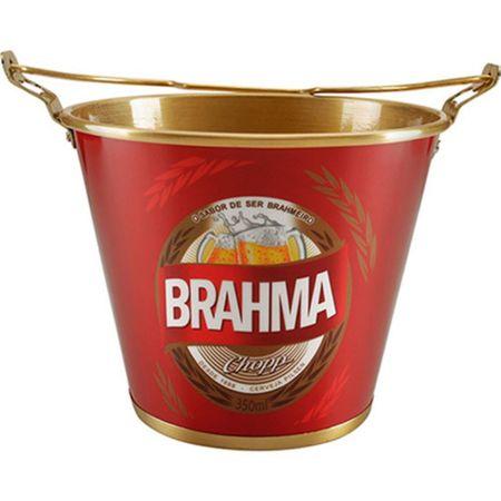 Balde para Gelo Alumínio 5L Brahma - Alumiart