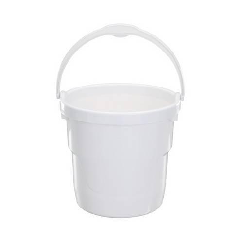 Balde Plástico 8l Branco Astra