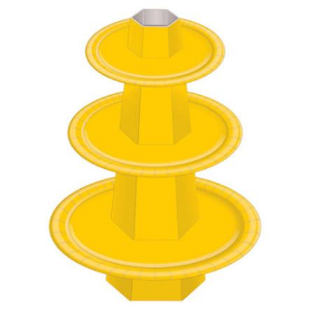 Baleiro 3 Andares Amarelo - Unidade