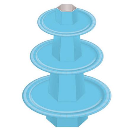 Baleiro 3 Andares Azul Claro - Unidade