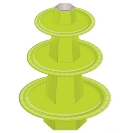 Baleiro 3 Andares Verde Claro - Unidade