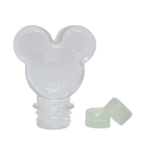 Baleiro Tubete Mickey 90ml Tampa Transparente - 10 Unidades