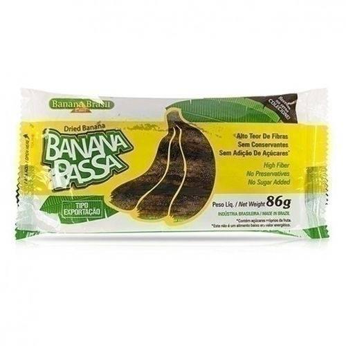 Banana Passa 86g - Banana Brasil