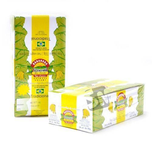 Bananada Fazendinha com Açúcar C/24un 30g