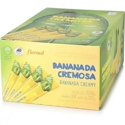 Bananada Zero 25g X 24 - Flormel