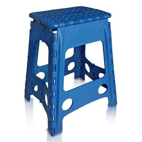 Banco de Plástico Dobrável Azul Antares
