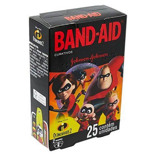 Band Aid os Incríveis Curativo Infantil C/25