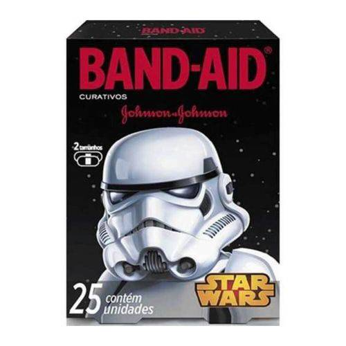 Band Aid Star Wars Curativo Infantil C/25