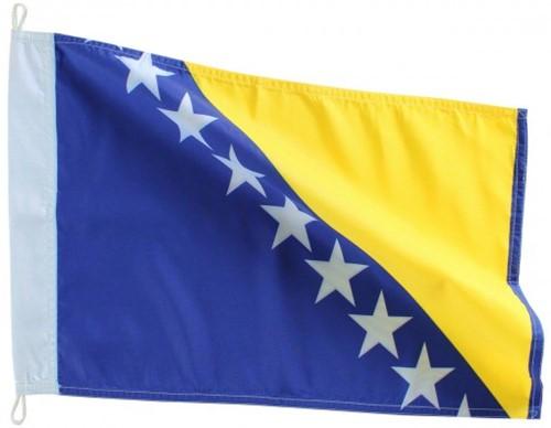 Bandeira de Bósnia