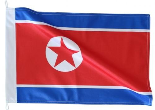 Bandeira de Coréia do Norte