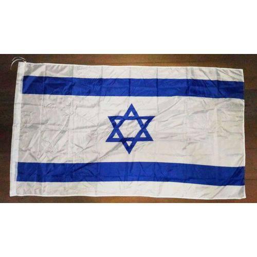 Bandeira de Israel 90 Cm X 150 Cm