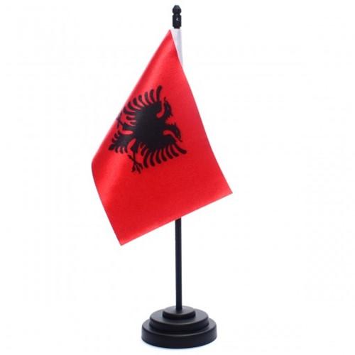Bandeira de Mesa Albânia 6657PP