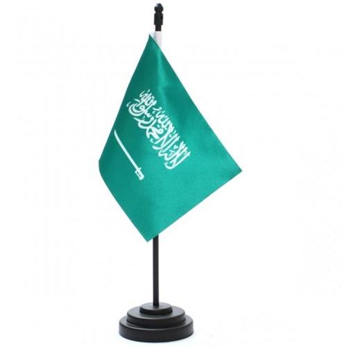 Bandeira de Mesa Arábia Saudita 6664PP