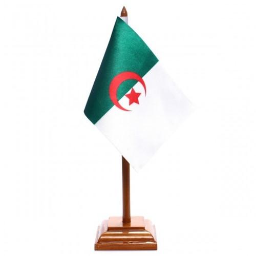 Bandeira de Mesa Argélia 6445PM